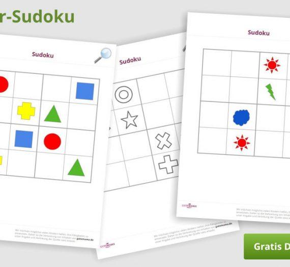 Sudoku für Kinder – kostenlos zum Download