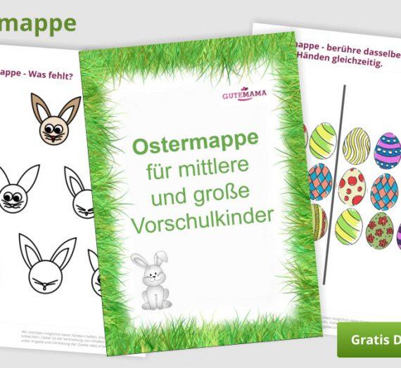 Ostermappe (kostenlose Aufgaben zu Ostern)