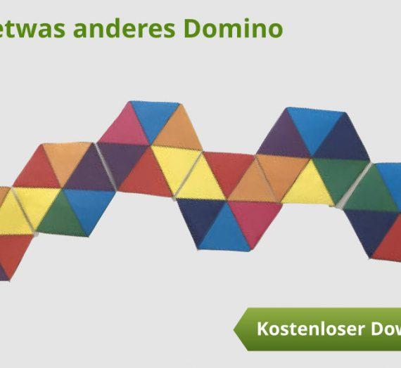 Ein etwas anderes Domino – kostenlose Vorlage