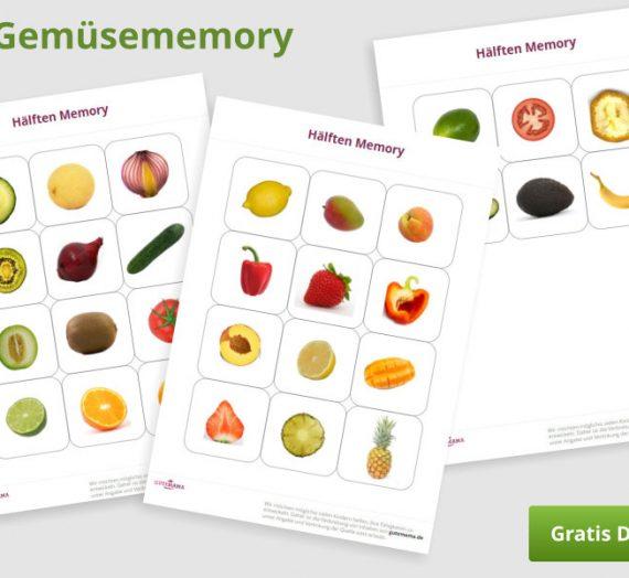 Obst/Gemüse – Memory