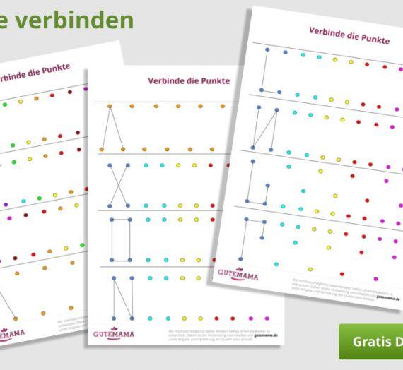 Punkte verbinden – Graphomotorik und Orientierung im Raum
