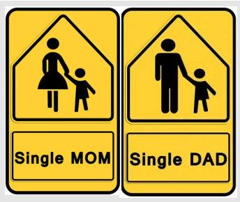 18 % aller Kinder in Deutschland werden von nur einem Elternteil großgezogen, meist sind es Mütter.