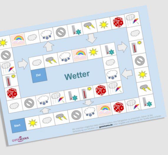 Spielplan Wetter – DAZ – Wortschatz