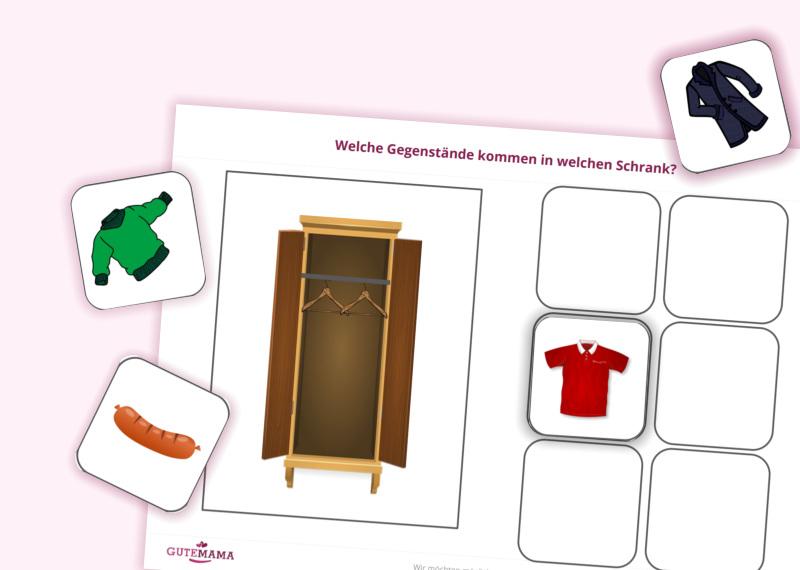 Arbeitsblätter für spannende Schulvorbereitung im Kindergarten    10 Karten mit Themenbereichen, mi