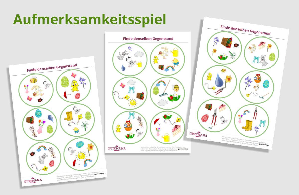 Arbeitsblätter für gezielte Schulvorbereitung im Kindergarten.    Ein Spiel mit 30 Kärtchen, wobei