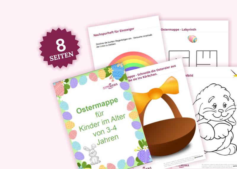 Eine einfachere Version der Ostermappe enthält folgende Aufgaben:    Laybrinthfreies GestaltenNachs