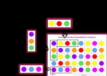 Ein großer Teil der visuellen Verarbeitung ist die Verarbeitung von räumlichen Beziehungen. Darunte
